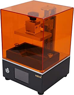 HIEHA SQ1 UV Photocuring LCD 3D Printer with Resume Printing Aauto-Leveling 3.5'' Smart Touch Screen Off-line Print 4.53''(L) x2.56''(W) x3.94''(H) Printing Size