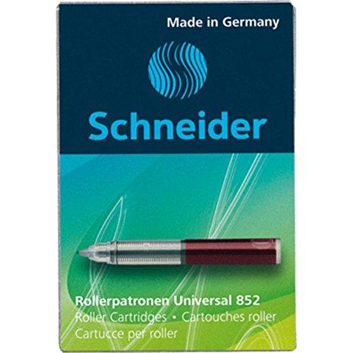 Schneider Rollerpatrone 852 Rot für Breeze, Base Senso, Base Ball, ID Duo,...