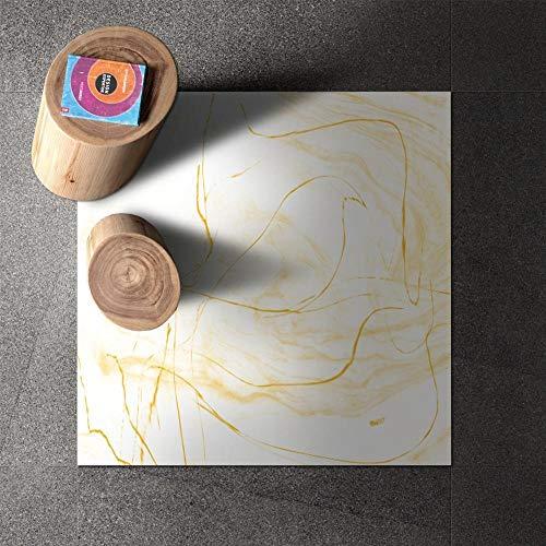 Leileixiao Agotamiento de Vinilo Plano PVC 3D Piso 3D Azulejos Adhesivos Pegatinas Impermeable para baño y Cocina (Color : B, Size : 30x30cmx 8pcs)