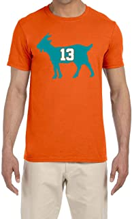 Tobin Clothing Orange Miami Marino Goat T-Shirt