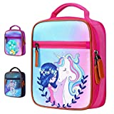 Kids Lunch Box Insulated Unicorn Organizer Lunch Bag for Boys and Girls, Perfect-Size...
