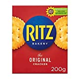 Ritz - Galletas Crackers Saladas - Paquete de 200 g...