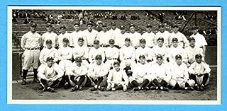 New York Yankees 1927 Baseball Team Reprint Card (Babe Ruth) (Lou Gehrig)