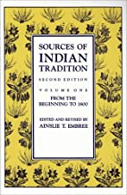 Best sources of indian tradition vol 1 Reviews