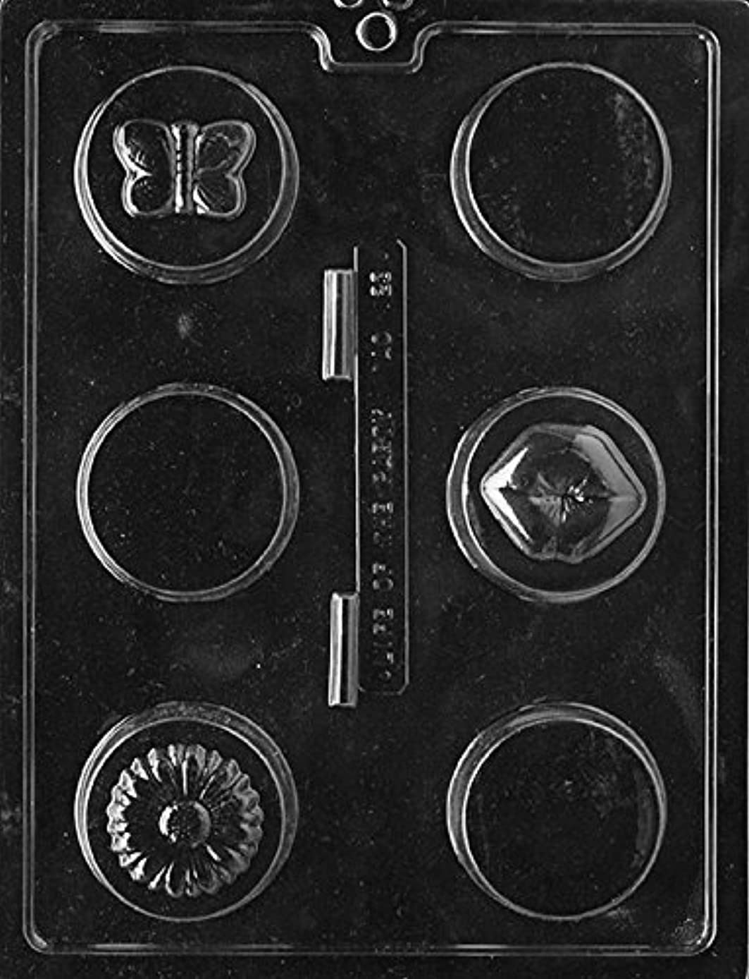 CybrTrayd AO123 Designer Cookies All Occasions Soap Mold with Exclusive Cybrtrayd Copyrighted Soap Molding Instructions