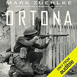 Ortona     Canada's Epic World War II Battle              Auteur(s):                                                                                                                                 Mark Zuehlke                               Narrateur(s):                                                                                                                                 William Dufris                      Durée: 14 h et 37 min     21 évaluations     Au global 4,5