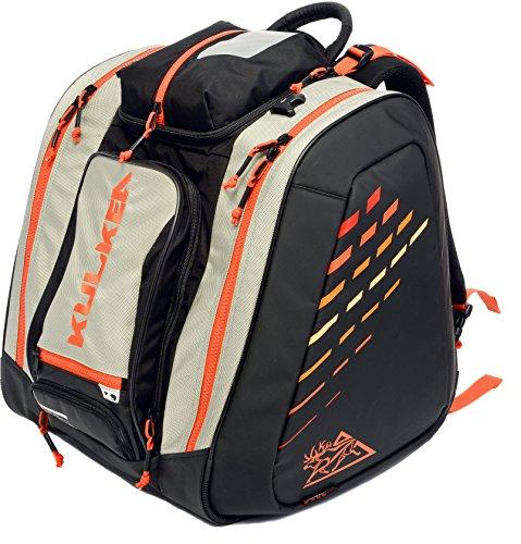 KULKEA Thermal Trekker - Heated ski/Snowboard Boot Bag (Grey/Black/Orange)