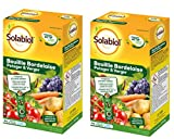 Solabiol SOBB20800X2 Bouillie Bordelaise Lot de 2 x 800g-Traitement Mildiou, Tavelure Cloque | Utilisable en Agriculture Biologique, Colorée Bleue, Efficient