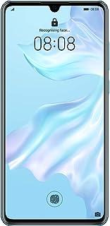 هواوي P30 بشريحتي اتصال - 128 جيجا، 8 جيجا رام، الجيل الرابع ال تي اي، ازرق فاتح