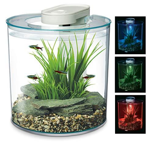 Marina 360 graden, Aquarium met afstandsbediening LED verlichting