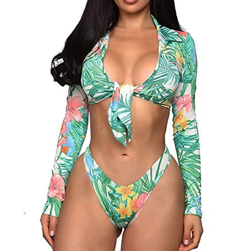 GLZBD 2021 Nouveau Mode Maillot de Bain Femme 2 Pièces, Mayo de Bain 2 Piece Femme Push up Bikini Pas Cher Sexy Fille Swimsuit Tenue de Plage Tankini Femme Maillot de Bain Bandeau Bresilien Camisole