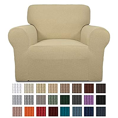 Easy-Going Stretch Chair Slipcovers ...