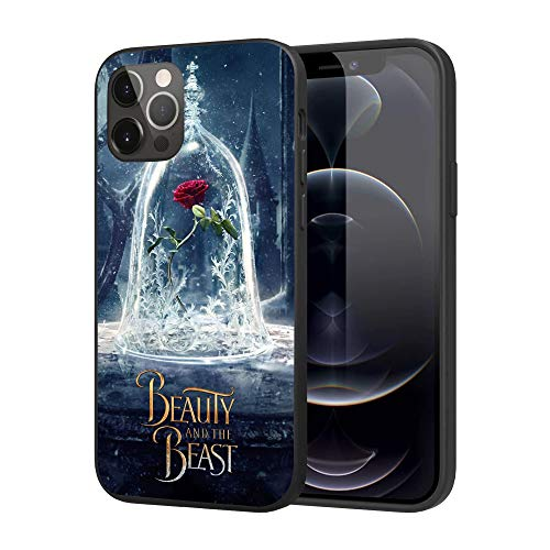 iPhone 12 Pro Max Case, Cover iPhone Case Basic Case,6.7 inch(Beauty-and-The-Beast-2)