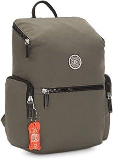 Kipling PIROS Cool Moss Small Backpack with Adjustable Straps KI647075U