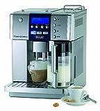De'Longhi PrimaDonna ESAM 6600 Kaffeevollautomat (Digitaldisplay, integriertes Milchsystem, Kegelmahlwerk 13 Stufen, Edelstahlgehäuse, 2-Tassen-Funktion) silber