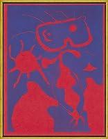 フレーム Joan Miro ジクレープリント キャンバス 印刷 複製画 絵画 ポスター (XXE siecle No4 Christmasからの8枚)
