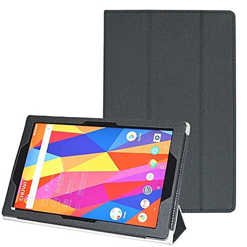 AKNICI Hülle Kompatibel mit CHUWI HiPad X Tablet 10.1 Zoll - PU Leder Magnetisches Abdeckung Schutzhülle mit Standfunktion Passt für CHUWI HiPad X Tablet 10.1 Zoll - CHUWI HiPad X Hülle - Schwarz