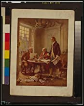 Infinite Photographs Photo: Writing The Declaration of Independence,1776,J.L.G. Ferris,Jefferson,Franklin