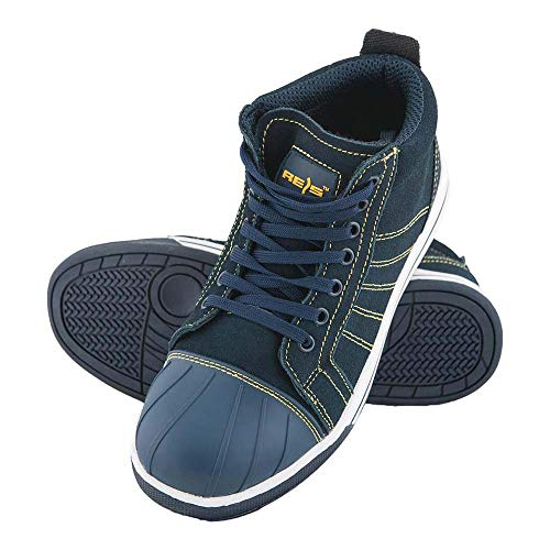 Rijst Brfence_39 veilige schoenen, donkerblauw-geel, 39 maten