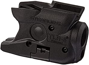 Streamlight 69273 TLR-6 Tactical Pistol Mount Flashlight 100 Lumen with Integrated Red Aiming Laser Designed Exclusively and Solely for M&P Shield 40/Shield 9 Only, Black