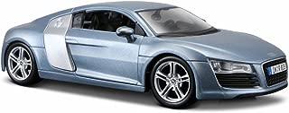 Maisto Audi R8 Hard Top, Metallic Blue 31281BU - 1/24 Scale Diecast Model Toy Car