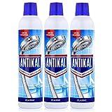 Antikal Kalkreiniger Classic Flasche Rundflasche 750ml - Entfernt hartnäckige Kalkbeläge (3er Pack)