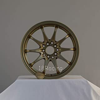 1 PC ONLY ROTA FIGHTER 10 DPT WHEELS 16X7 PCD:5X100 AND 5X114.3 OFFSET:40 HB:73 GOLD