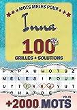 Mots mêlés pour Inna: 100 grilles avec solutions, +2000 mots cachés, prénom personnalisé Inna   Cadeau d'anniversaire pour femme, maman, sœur, fille, enfant   Petit Format A5 (14.8 x 21 cm)