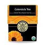 Organic Calendula Flower Tea - Kosher, Caffeine-Free, GMO-Free - 18...