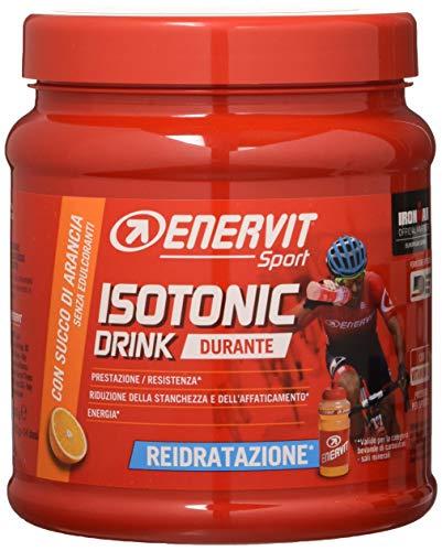 Enervit Sport Durante Bevanda Isotonica Con Succo Di Arancia 420 g + Borraccia