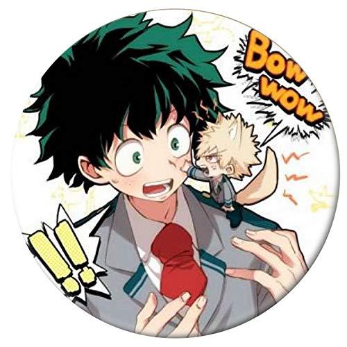 Yuxareen Anime My Hero Academia Cosplay Abzeichen Cartoon Boku no Hero Academia Brosche Pins Izuku Sammlung Taschen Button Abzeichen für Rucksäcke - 1(H20)