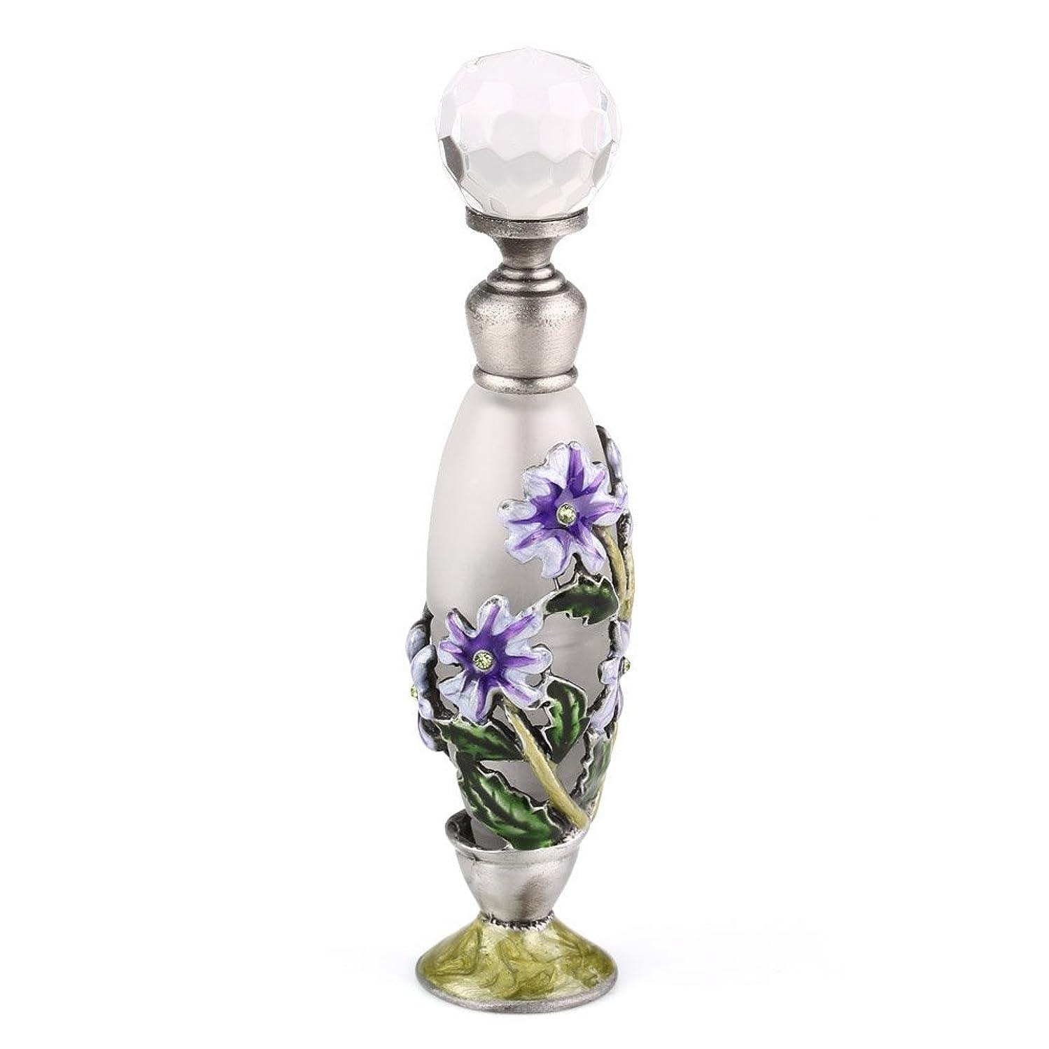 原子不正確建てる高品質 美しい香水瓶 7ML 小型ガラスアロマボトル フラワー 綺麗アンティーク調欧風デザイン プレゼント 結婚式 飾り