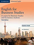 English for Business Studies Student's Book [Lingua inglese]