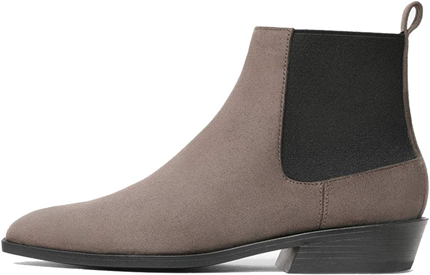Flat Booties Women's Booties shoes Martin Boots Ankle Boots That fits All Your Clothes shoes (color   Brown, Size   38)
