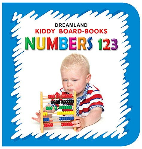 Kiddy Board Book - Numbers 123 (English Edition)