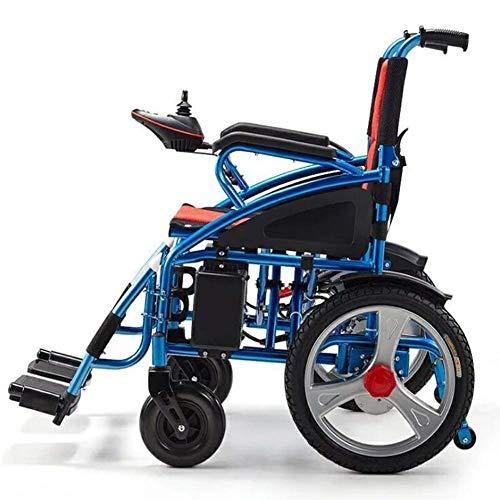 Intelligente elektrische rolstoel, opvouwbaar, licht, elektrische mobiliteitshulp, elektrische rolstoel, draagbare medische lichte scooter, draagbare ondersteuning voor ouderen en gehandicapten.