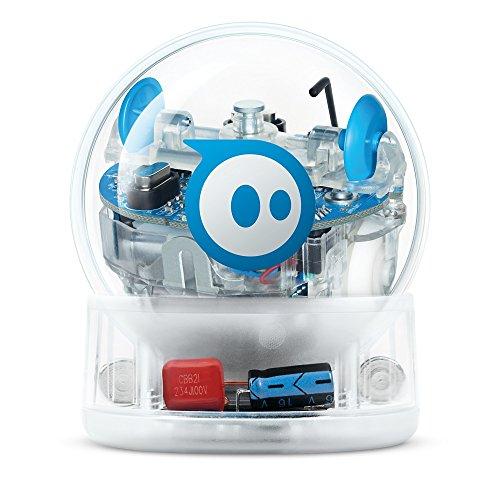 Sphero- SPRK+ Esfera robótica y Robot controlado por una aplicación Aprendizaje y programación en Stem para niños Matriz de LED programable, conexión Mediante Bluetooth, Color transparente (K001RW1)