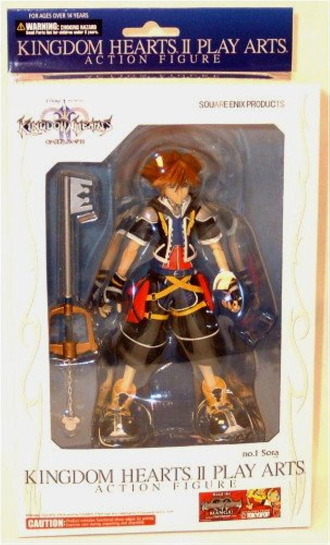 venta directa de fábrica KINGDOM HEARTS II Jugar ARTS Sora (non-scale PVC painted Acción Acción Acción Figura) (japan import)  autentico en linea