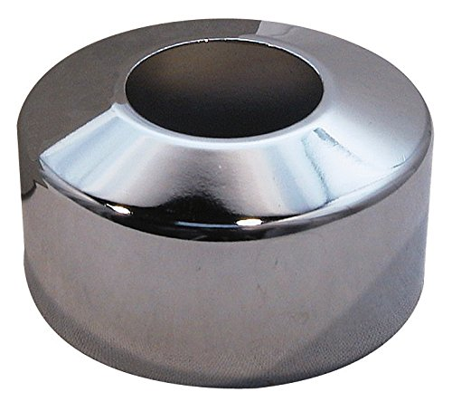 Sanitop-Wingenroth 19206 4 Hahnrosette Rosette | Metall, 27 mm oder 3/4 Zoll | Außendurchmesser 67 mm | Höhe 30 mm | Verchromt