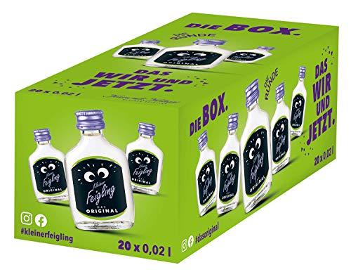 Kleiner Feigling | Das Original | 20 x 20 ml | Marken-Spirituose | Premium Likör | Feiern mit Fantasie | Der Party-Shot