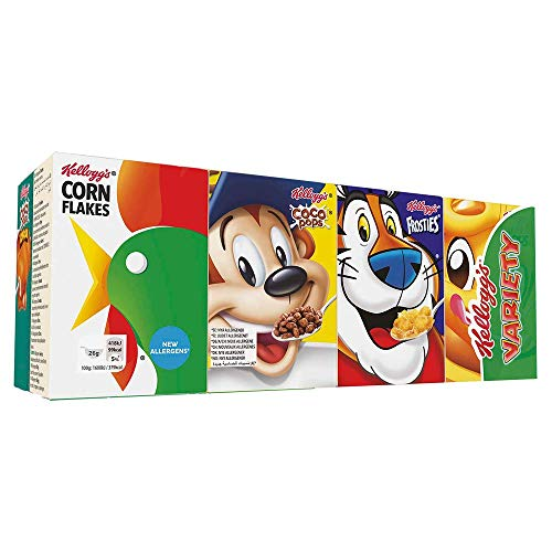 Kellogg's Variety Classic Cerealien | 6er Pack mit jeweils 8 Portionspackungen | 6 x 205g