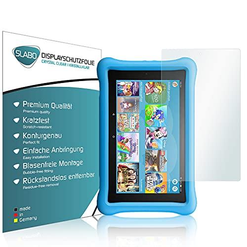 Slabo 2 x Bildschirmschutzfolie für Amazon Fire HD 10 Kids Edition (2017) | HD 10 Kids Edition-Tablet (2019) Bildschirmschutz Schutzfolie Folie Crystal Clear KLAR