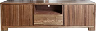 Homes r us ICONIC Collection TV Entertainment Unit - Walnut - 180 x 48 x 55 cms