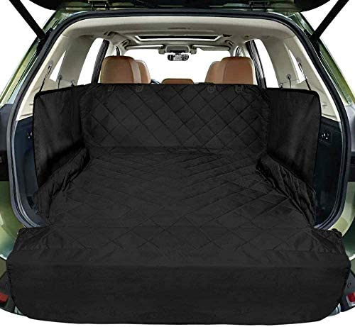 Cargo Liner for SUV FunniPets Waterproof Dog Cargo Cover with Side Walls Protector and Bumper product image