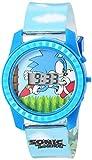 Sonic the Hedgehog Kids' SNC4003 Digital Display Quartz Blue Watch