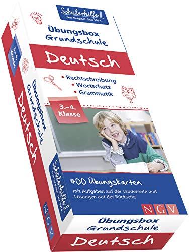 Deutsch Übungsbox Grundschule, 3. + 4. Klasse: Gute Noten mit der Schülerhilfe