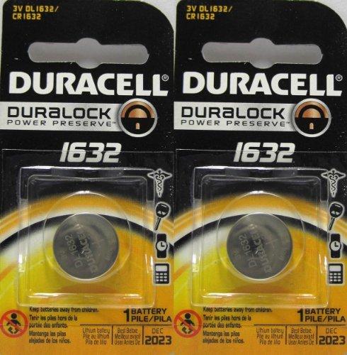 2 Stück Duracell CR1632 1632 Car Remote Batterien, Modell: