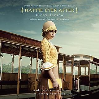 Hattie Ever After audiobook cover art
