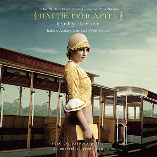 Hattie Ever After audiobook cover art