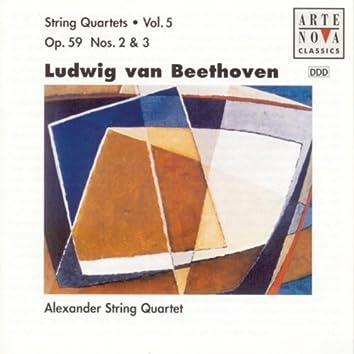 Beethoven: String Quartets Vol. 5
